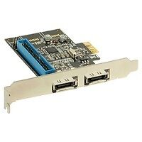 InLine Scheda Controller HDD eSATA 6Gb/s + IDE RAID, 2 canali, PCIe ( PCI-Expres