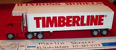 Timberline 7000 Cab  Tractor Trailer Winross Truck
