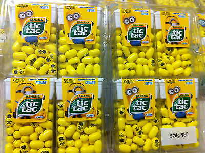 Minion Tic Tacs Limited Edition 12 Packets. FAST N FREE DELIVERY • AUD 25.00