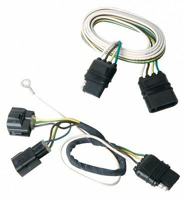 trailer tail light connector jeep wrangler tj 05-06 tow hitch brake wiring  plug