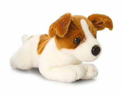 Jack Russell Terrier Plush Stuffed Soft Toy Dog 30cm Pickles by Keel Toys