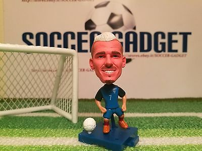 Statuina ANTOINE GRIEZMANN #7 FRANCE EURO 2016 dolls football action figure 7 cm
