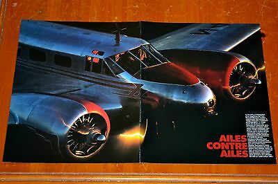 Poster 1934 Beechcraft B17 L Airplane / Retro Vintage American Plane Photo