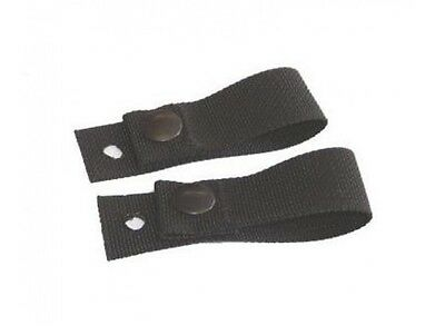 US Helm GOGGLE RETENTION STRAPS Police SWAT MICH ACH PASGT Army Helmet black