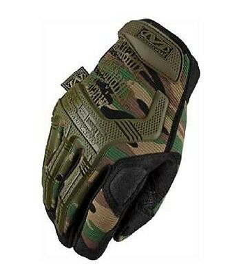 US Mechanix Wear M Pact Gloves Army Gloves woodland camouflage M / Medium