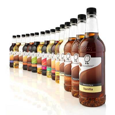Sweetbird Syrup For Coffee, Soda and Cocktails 1 Litre - Shop Our Full Range