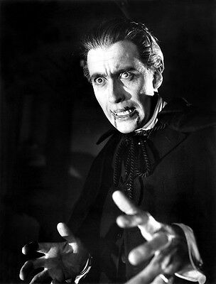 Christopher Lee UNSIGNED photograph - B2607 - Horror of Dracula
