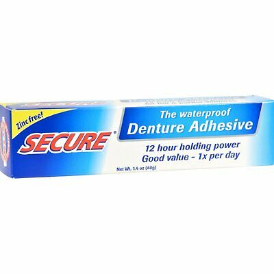 Dentek Secure Denture Bonding Cream 1.4 oz