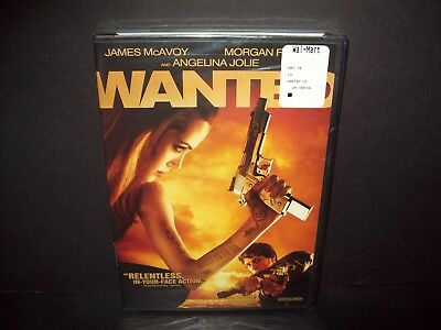 Wanted - DVD - Widescreen Edition - Angelina Jolie BRAND NEW AND SEALED!