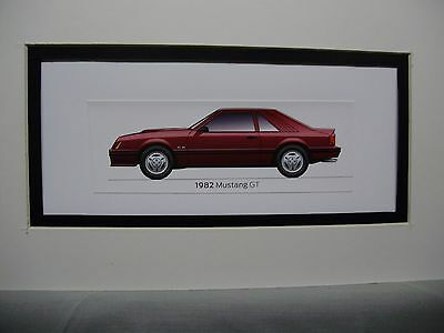 1982  Ford Mustang GT From  50 Year Anniversary Exhibit by artist
