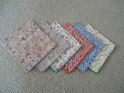 LIBERTY ART FABRIC - CHILDRENS HANDKERCHIEF-by CONNIE CLASSICS-MADE IN AUSTRALIA