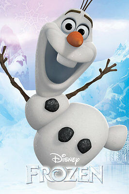 Frozen Olaf Poster 92 Size 61 x 91.5cm FAST N FREE DELIVERY