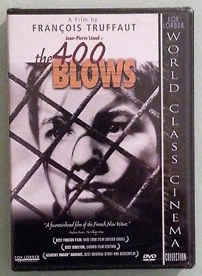 jean pierre leaud  THE 400 BLOWS claire maurier   DVD NEW