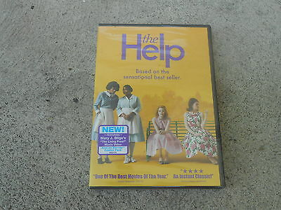 The Help-Dvd-2011-Emma Stone-Viola Davis-Hype Sticker-Factory Sealed-Brand New!