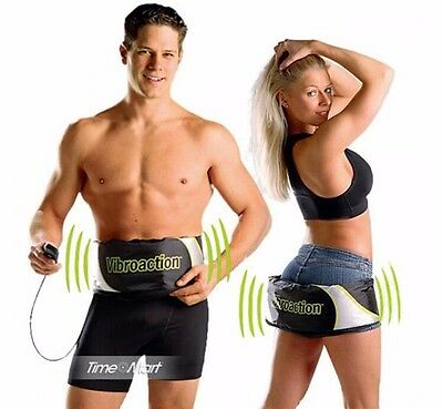 Electric Body Shaper Slim Exercise Belt Wrap Fat Burner Fitness Vibrating Tool