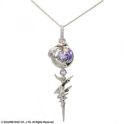 NEW!! SQUARE ENIX FINAL FANTASY XIII Engage Pendant Serah Necklace From Japan