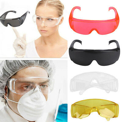 Windproof Safety Glasses Eye Protection Wear Spectacles Goggles Work Anti Fog