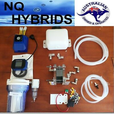 Diy Cell   Hho  Hydrogen Generator 11 Plate Mini Exstreme Ideal For Small 4 X 4