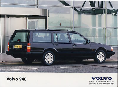 Volvo 940 Low Pressure Turbo Press Photograph - 1997 - 940 LPT