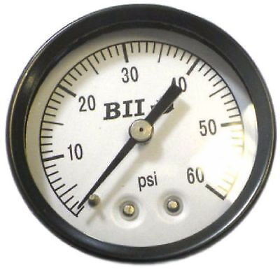 "Boshart Industries PGCBM-1-60 Pressure Gauge 2"" Face 0-60 PSI Center Back Mount"