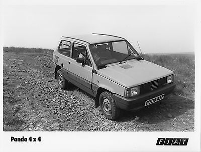 Fiat Panda Mk1 4x4 Press Photograph - 1984 - (2)