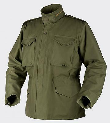 HELIKON TEX US M65 Jacke Army Outdoor Parka Jacket oliv w Futter LL Large Long