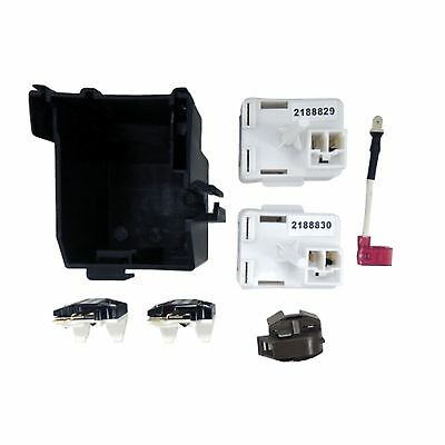 Supco 8201786 2188830 Refrigerator Overload & Relay Kit for Whirlpool Kenmore