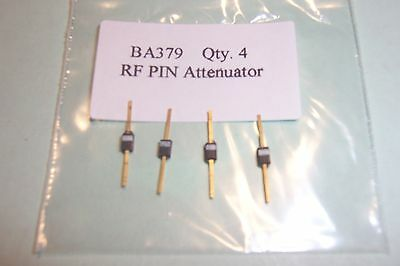 BA379  RF PIN Atenuator diodes  Phillips NOS Qty. 4