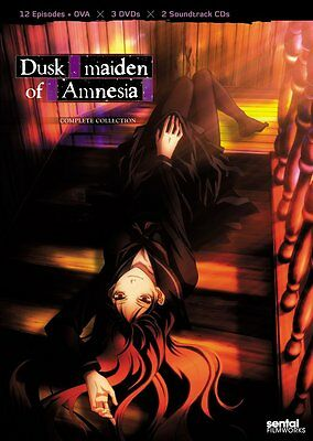 Dusk Maiden Of Amnesia . The Complete Collection . Anime . 3 DVD + 2 CD . NEU