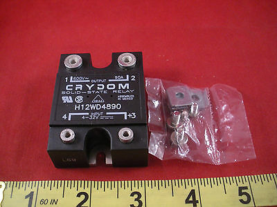 Crydom H12WD4890 Solid State Relay Output 600 v 90a Input 4-32v 90 amp New Nnb