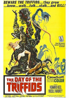 The Day of the Triffids - Howard Keel - A4 Laminated Mini Poster