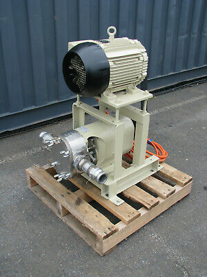 Stainless Lobe Pump - 7.5kW