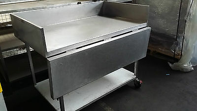 Stainless Steel Drop Side Bench