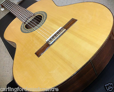 CLASSICAL GUITAR ALHAMBRA 3CA SOLID SPRUCE TOP Hand made SPAIN