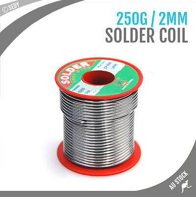 Solder Wire Soldering Coil Spool 250g 60/40 Core Plumbing Electronic Iron Repair