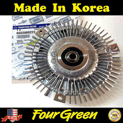 D20//27DT #6652000222 Genuine VISCOUS CLUTCH for Ssangyong ACTYON//SPORTS KYRON