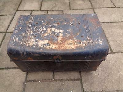 Victorian Large Tin Trunk