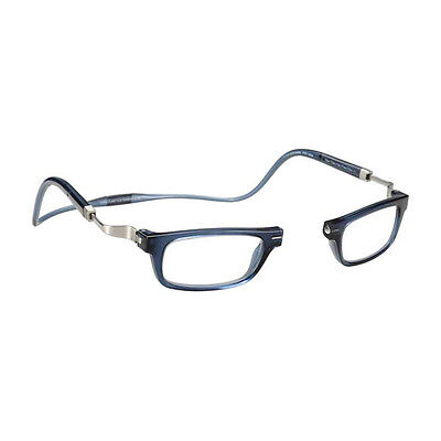 Top quality Lesebrillen Clic Vunetic Tenore blue Made in Italy Hoya Lens