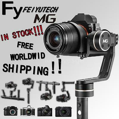 Feiyu MG Lite 3 Axis Handheld Gimbal Stabilizer for Sony A7 Canon 5D etc H8X8