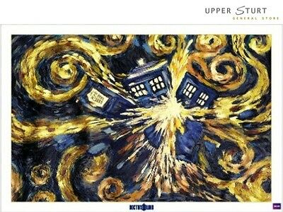Doctor Who Exploding Tardis Poster 12 Size 61 x 91.5cm FAST N FREE DELIVERY