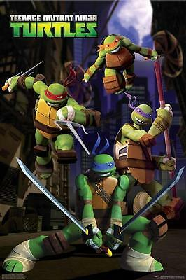 Teenage Mutant Ninja Turtles Alley #43 Poster 61 x 91.5cm FAST 'N FREE DELIVERY