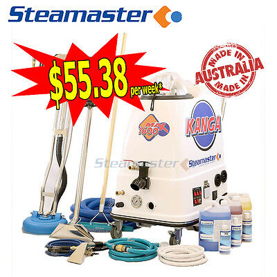 Carpet Upholstery Steam Tile Cleaning Machine Cleaner Kanga 1600 Auto Fill/Empty