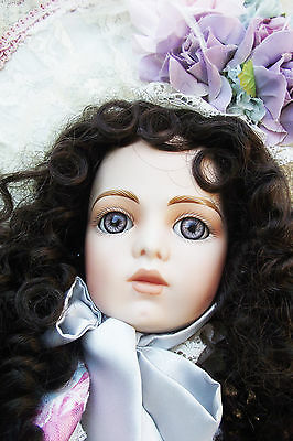 NEW ANTIQUE REPRODUCTION BRU JNE 13 VICTORIAN DOLL 21in PORTIA PATRICIA LOVELESS