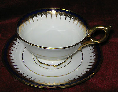 1 - Coalport Pattern 3991 Tea Cup and Saucer (Matches Pattern 6148) (2014-136)