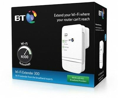 Boost Your Wi-Fi Range Extender BT Kit Faster Internet Booster Wireless Signal