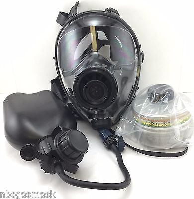 Mestel Safety SGE400 Gas Mask 40mm NATO w/Drinking-System & NBC Filter exp6/2021