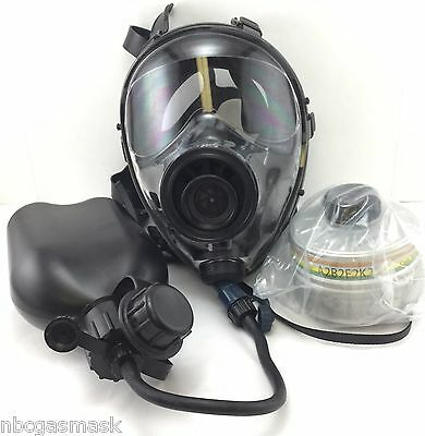 Mestel Safety SGE400 Gas Mask 40mm NATO w/DrinkingSystem & NBC Filter Xp 12/2022
