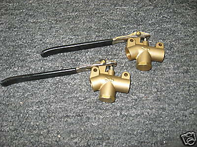 Carpet Cleaning Brass Wand Angle Valves, Set of 2