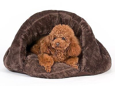 NEW Pet Bed Dog/Cat/Puppy/Kitten Sleeping Cave Igloo Removable Tent Cushion SD01