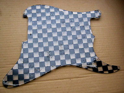 CHECKERBOARD PICKGUARD for FENDER STRATOCASTER